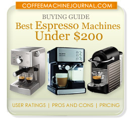 best espresso machine under $200