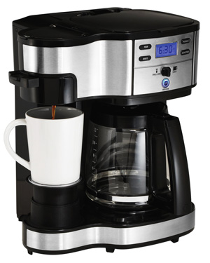 hamilton beach single serve coffee machine