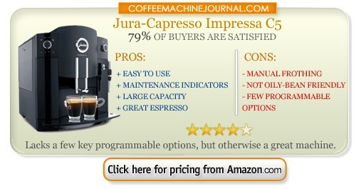 jura super-automatic espresso machine