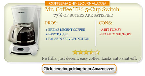 5 cup coffee makers