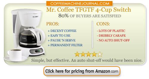 4 cup coffee machine