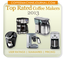 top rated coffee makers 2013